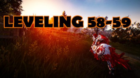 58-59 leveling boost
