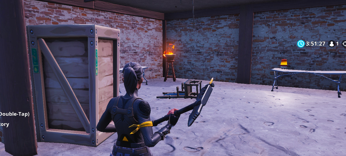 Fortnite suicide scene