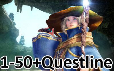 Black Desert PS4 Leveling 1-50 boost