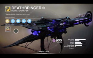Destiny 2 - Buy Deathbringer Exotic Rocker Launcher