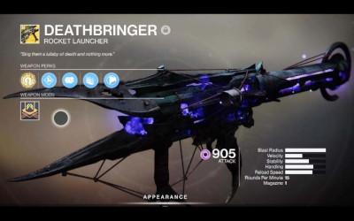 Destiny 2 - Buy Deathbringer Exotic Rocker Launcher