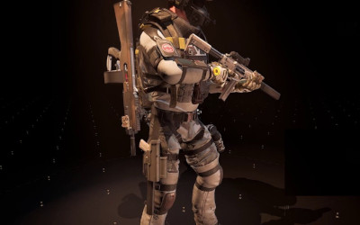 Division 2 Operator aka White Tusk outfit