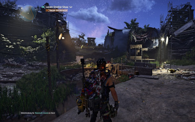 Division 2 Roosevelt Island Legendary stronghold carry