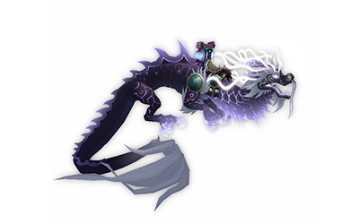 World of Warcraft Reins of the Heavenly Onyx Cloud Serpent