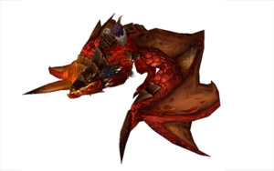 World of Warcraft of the Reins Red Proto-Drake