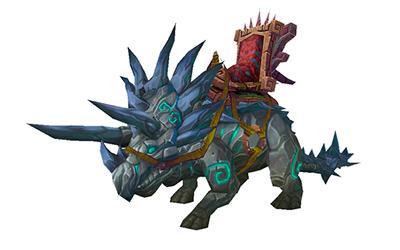 World of Warcraft Slate Primordial Direhorn