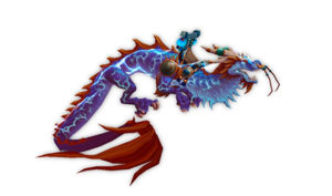 World of Warcraft Reins of the Thundering Cobalt Cloud Serpent
