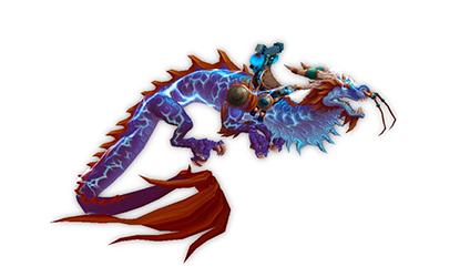 World of Warcraft Reins of the Thundering Cobalt Cloud Serpent