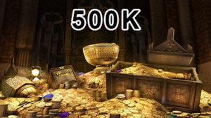 Buy 500k gold in Elder Scrolls Online